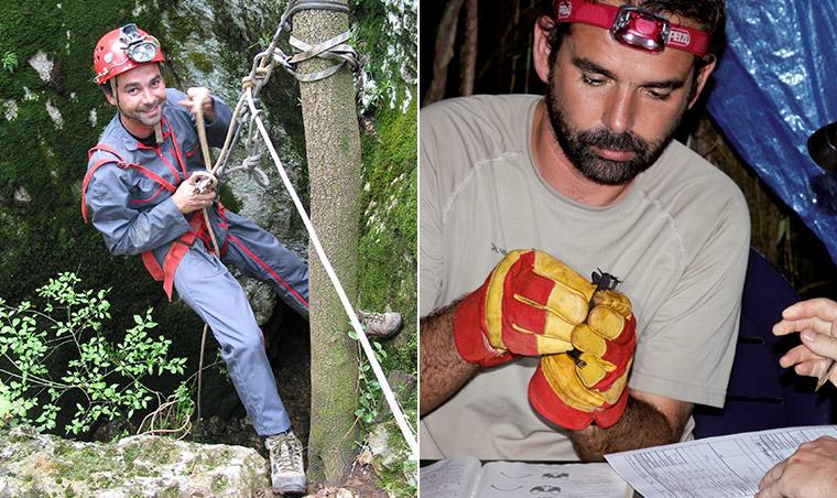 Expert chiroptérologue Biotope en plein action